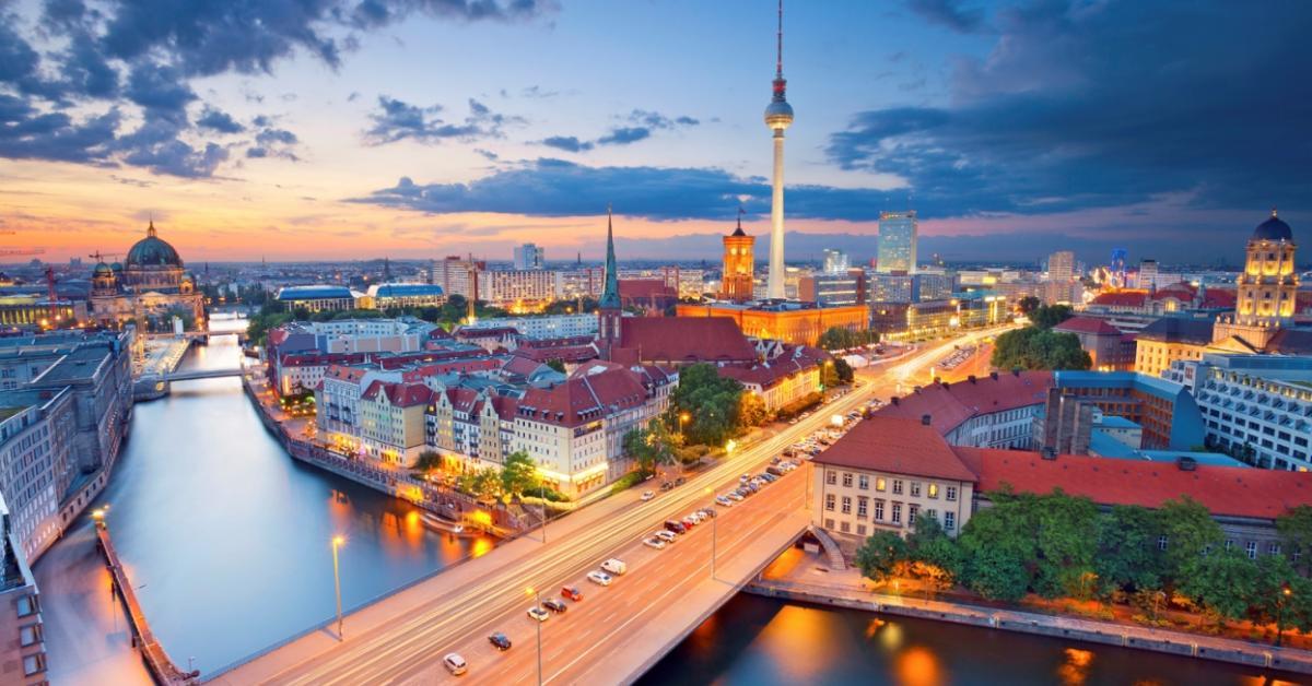 Перелет из Нур-Султана в Берлин